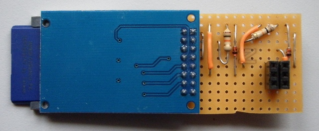 SD Card adapter with SPI Level shifter