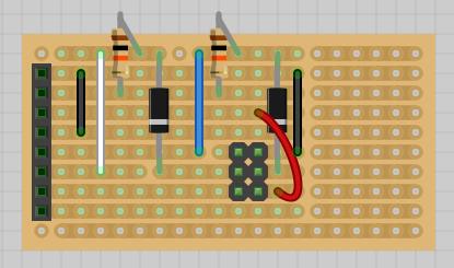 SPI Level shifter board