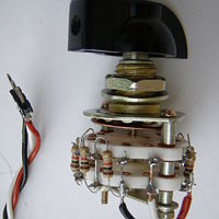 10 positions Rotating Switch