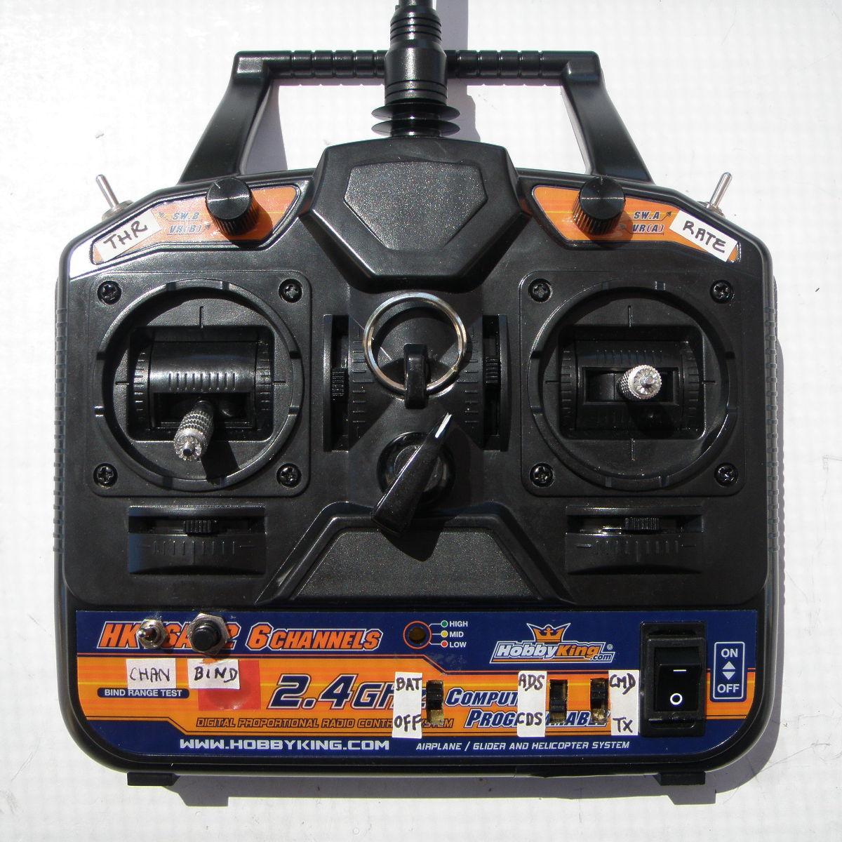 Hardware arduino radio control
